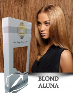 Easy Clip-On Silver Blond Aluna