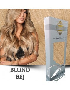 Easy Clip-On Silver Blond Bej