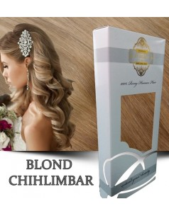Easy Clip-On Silver Blond Chihlimbar