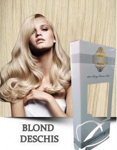 Clip-On WhitePlatinum Blond Deschis