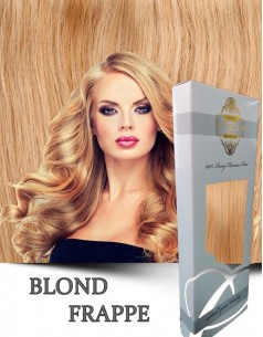Clip-On WhitePlatinum Blond Frappe