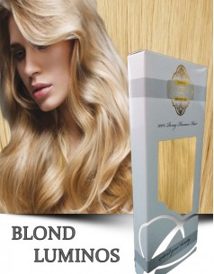 Clip-On Gold Blond Luminos