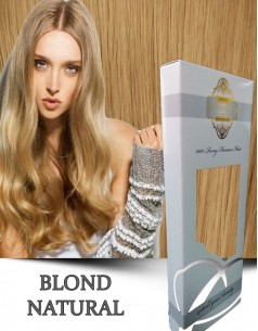 Clip-On WhitePlatinum Blond Natural