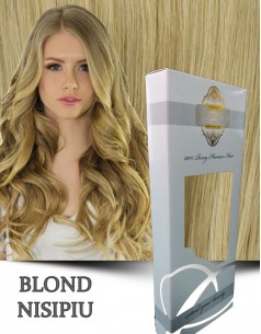 Easy Clip-On Silver Blond Nisipiu