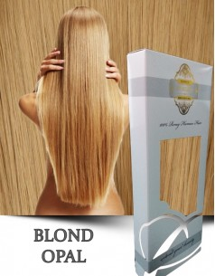 Clip-On WhitePlatinum Blond Opal