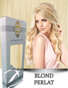 Easy Clip-On Silver Blond Perlat