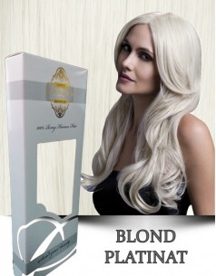 Easy Clip-On Silver Blond Platinat