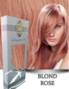Clip-On WhitePlatinum Blond Rose