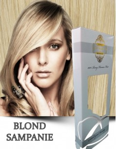 Easy Clip-On Bronz Blond Sampanie