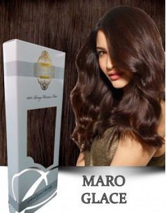Clip-On WhitePlatinum Maro Glace