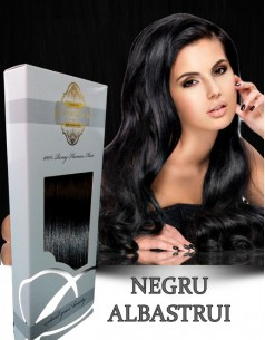 Clip-On WhitePlatinum Negru Albastrui