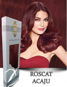 Clip-On WhitePlatinum Roscat Acaju