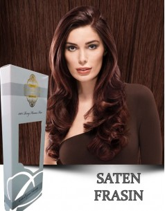 Clip-On Gold Saten Frasin