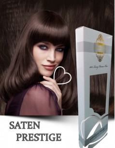 Clip-On WhitePlatinum Saten Prestige