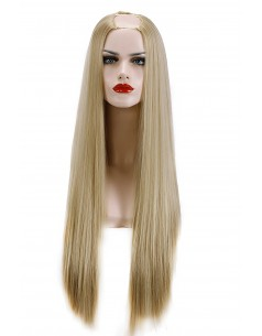 Semiperuca Par Natural U PART Blond Bej Drept