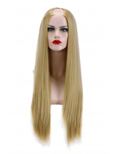 Semiperuca Par Natural U PART Blond Miere Drept
