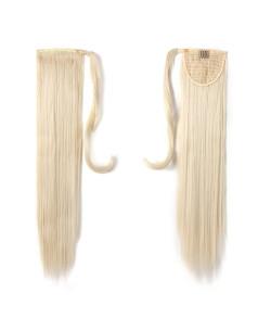 Cozi cu Scai Sintetic Blond Platinat 60#